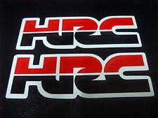 HRC Sticker Decal CBR NSR 250 400 500 600 900 1000 Fireblade Hornet Parts x2