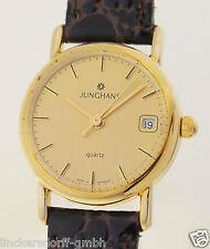 JUNGHANS orologio da polso da donna in oro 14ct-Incl. BOX