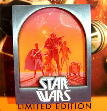 Disney Star Wars Weekends 2015 Map+Rebels 2014 Poster Art Pin Limited Edition