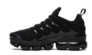 Nike Air VaporMax Plus Black Running Shoes (924453-004) Men's Sizes