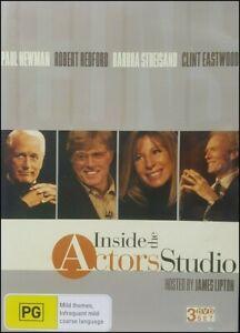 Inside Actors Studio Paul NEWMAN Robert REDFORD Barbra STREISAND Clint EASTWOOD