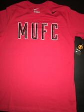 MUFC Manchester United Nike Slim Fit Tee Shirt Man U  ManU Football Soccer FFS