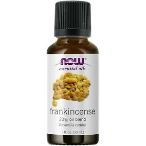 NOW FOODS FRANKINCENSE 20% BLEND 1 OZ FRESH, FREE SHIPPING, Made in USA