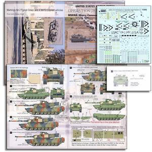 Echelon T35006 1/35 USMC M1A1HA Abrams in OIF #2