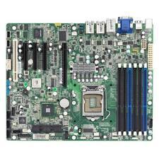 TYAN S5502 (S5502GM3NR), I3420, VGA, iKVM,(3)GbE, SATA RAID,DDR3 800. RETAIL BOX