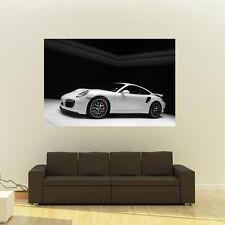 Poster of Porsche 911 991 Turbo S Giant Huge 54x36 Inch Print 137x91 cm