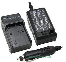 (Car/Home) BN-V408U Battery Charger for JVC MiniDV Camcorder GR-D72U GR-D70U