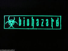 ill Gear GID BIOHAZARD Patch GITD  ZOMBIE HUNTER 1X5 symbol sign