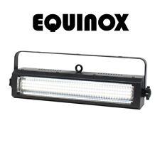 Equinox Blitzer II LED Bianco Dj Discoteca Strobo Blinder Wash Illuminazione DMX