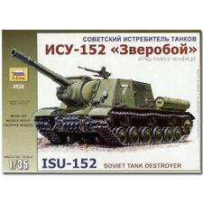 Zvezda 3532 Sp Gun Isu-152 Tanque Kit Modelo 1:35