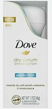 Lot of 3 Dove Dry Serum  Antiperspirant Powder Finish 1.7 oz EXP 12/20 (23a)