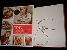 Giada De Laurentiis signed Happy Cooking 1st printing hardcover book