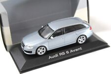 1:43 Minichamps Audi rs6 Avant MONZA SILVER spacciatori NEW in Premium-MODELCARS