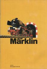 Märklin Katalog 1973 DI-H0 & Sprint Rennbahn-Lokomotiven-Güterwagen-Modellbau