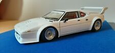 1:18 Minichamps BMW M1 White Handmade - Baquets - Seat Belt - Ideal for Decals