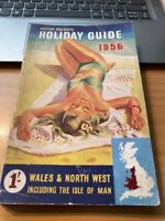 BRITISH RAILWAYS HOLIDAY GUIDE 1956 WALES & NORTH WEST INC IOM - GOOD CONDITION
