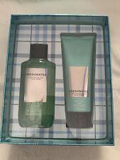 Bath & Body Works Freshwater Gift Set Mens Shower Gel Shea Cream  New