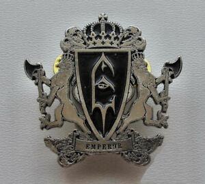 EMPEROR - Lions  - Metal Pin / Satyricon Gorgoroth Ihsahn Limbonic Art Odium