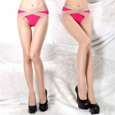 Thigh Body Stay up Long Sheer Top High Silk Stocking Women Socks Beige