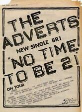 Adverts No Time To Be 21 UK Tour advert 1978