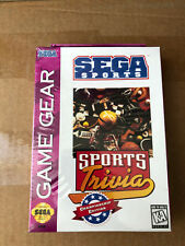 "JEU VIDEO GAME GEAR ""SPORT TRAVIA"" NEUF SOUS BLISTER VINTAGE RARE 90'S"