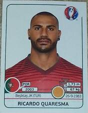 593 RICARDO QUARESMA Portogallo Panini EURO 2016 Francia Adesivo