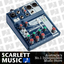 Soundcraft Notepad 5 Channel USB Mixing Desk Mixer - w/2 Years Warranty.