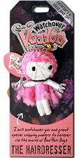 """Watchover VOODOO DOLL Keychain THE HAIRDRESSER Every Day Great Hair Day, 3"""" Tall"""