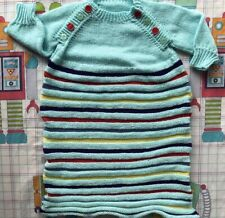 Vintage Knit Baby Sleep Bag Size 0/1