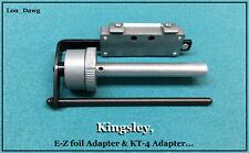 Kingsley Machine  ( E-Z Foil Adapter & KT-4 Adapter ) Hot Foil Stamping Machine