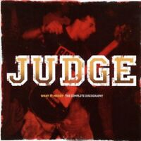 Judge - What It Meant: Complete Discography [CD]