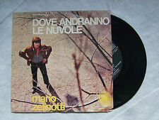 """MARIO ZELINOTTI""""DOVE ANDRANNO LE NUVOLE-Disco 45 giri - DURIUM 1970"""""""