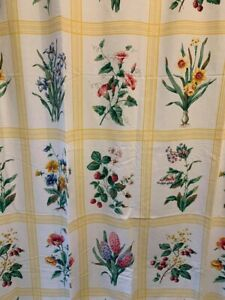 "NWOP Liz Claiborne ""In Full Bloom"" Floral Shower Curtain!"
