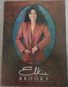 Elkie Brooks 1980 Tour programme signed