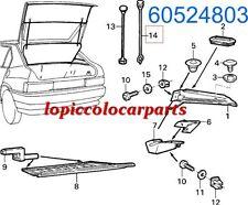 60524803 Tirante in Gomma Cappelliera Posteriore  Originale Alfa 33 dal 88 al 90