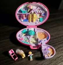 1995 Polly Pocket Bluebird - Palomino Pony - NEAR COMPLETE!