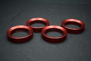 Dragbike KZ GS Set of (4) Fast By Gast Red Power Rings NICE Kawasaki Suzuki +CFM
