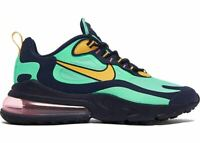 New Nike Air Max 270 React in Electro Green/Yellow Ochre Colour Size 11