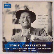 Eddie Constantine 45 tours 1957 Ronde ronde