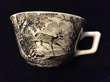 SAAR V&B M VILLEROY & BOCH ARTEMIS Antique German Porcelain 7 Cups & 8 Saucers