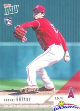 2018 Topps Now Shohei Ohtani FIRST PRINTED TOPPS PITCHING ROOKIE MINT Angels LE