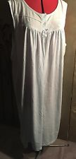 SOLUTIONS Blue Nightgown. Size 24.