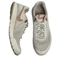 Nike Flex Experience RN 6 Women's Size 9.5 Cream Athletic Shoes 881805-102