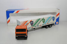 LION CAR LION TOYS DAF 2800 TRUCK WITH TRAILER ANTA FLU MINT BOXED