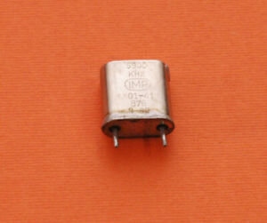 CRYSTAL - QUARTZ - 7100 kHz - 7.100 MHz - CR-18/U case