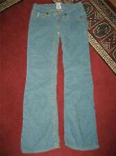 "Girl's TRUE RELIGION ""Joey"" Flap Pocket Twisted Seam Corduroy jeans...size 12"