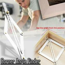 Corner Angle Finder Square Protractor Tool Ceiling Artifact Measuring Ruler