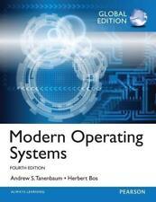 Modern Operating Systems: Global Edition von Herbert Bos und Andrew S. Tanenbaum (2014, Taschenbuch)