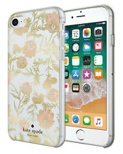 Kate Spade Protective Case iPhone 8/7/6/6S Blossom Pink/Gold with Gems New