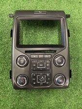 Ford F150 Raptor SVT 10-14 Radio & Temp Climate Control Bezel Unit EL3T18A802GA